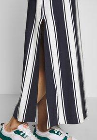 GANT - STRIPED MAXI DRESS - Maxi dress - evening blue - 4