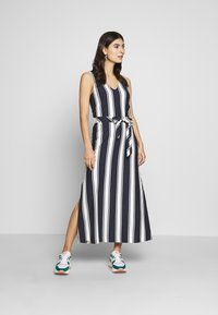 GANT - STRIPED MAXI DRESS - Maxi dress - evening blue - 1