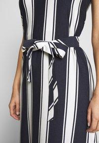 GANT - STRIPED MAXI DRESS - Maxi dress - evening blue - 3