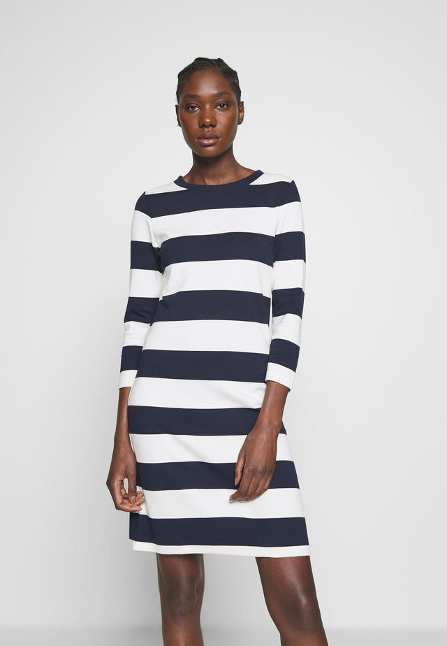 BARSTRIPED  - Vestido de tubo - evening blue