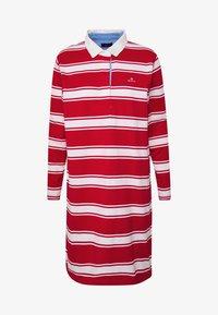 GANT - HEAVY RUGGER DRESS - Denní šaty - bright red - 4