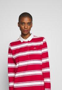 GANT - HEAVY RUGGER DRESS - Denní šaty - bright red - 5