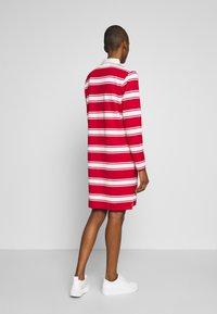 GANT - HEAVY RUGGER DRESS - Denní šaty - bright red - 2