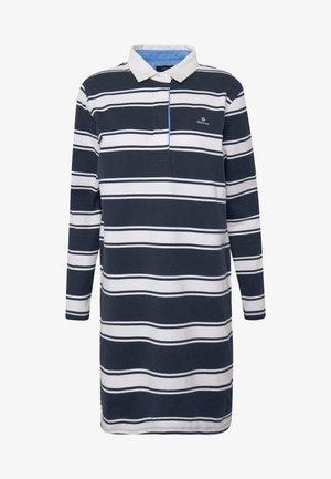 HEAVY RUGGER DRESS - Denní šaty - evening blue