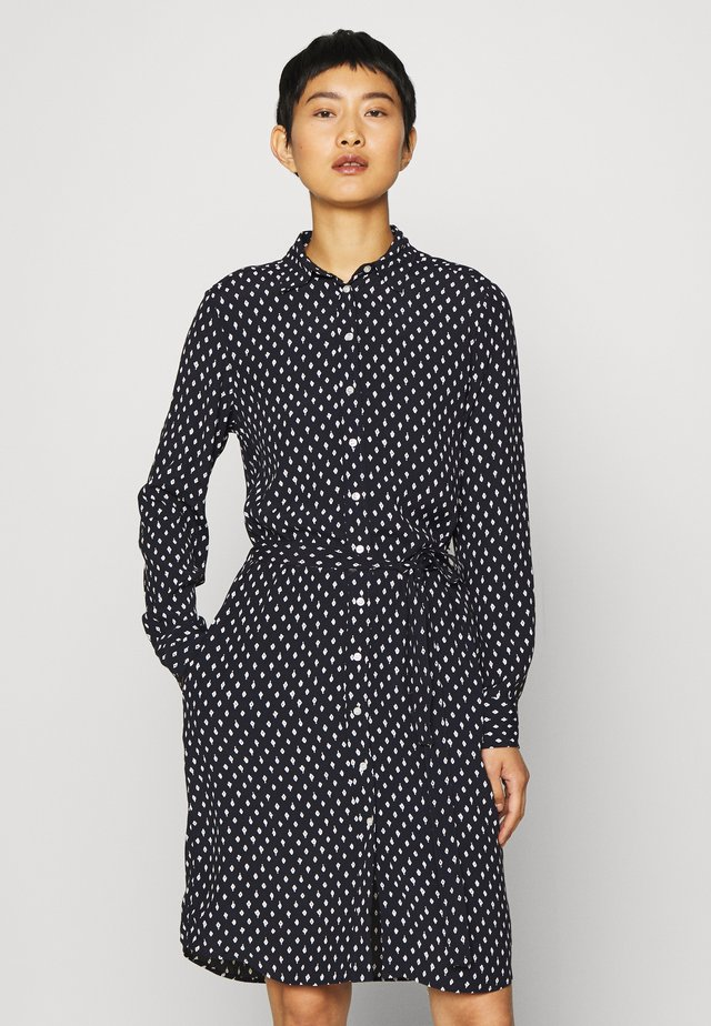 DESERT JEWEL PRINT DRESS - Košilové šaty - evening blue