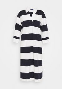 GANT - FEMININE STRIPED RUGGER DRESS - Tubino - evening blue - 3