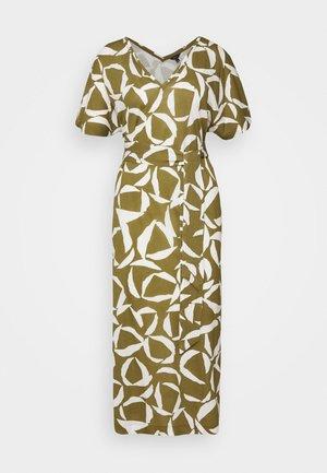 CRESENT BLOOM DRESS - Jerseykjoler - olive green