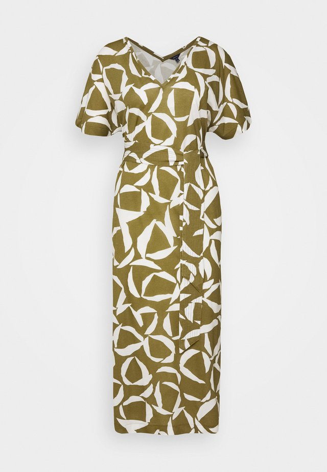 CRESENT BLOOM DRESS - Vestido ligero - olive green