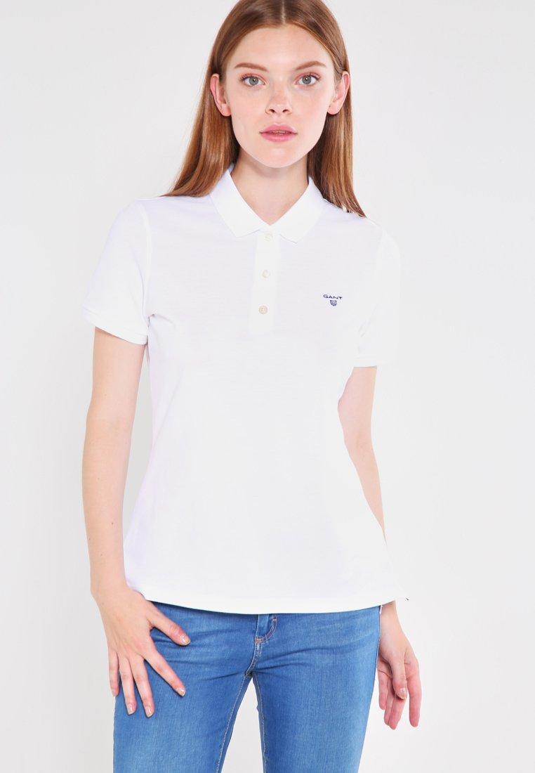 GANT Koszulka polo - white