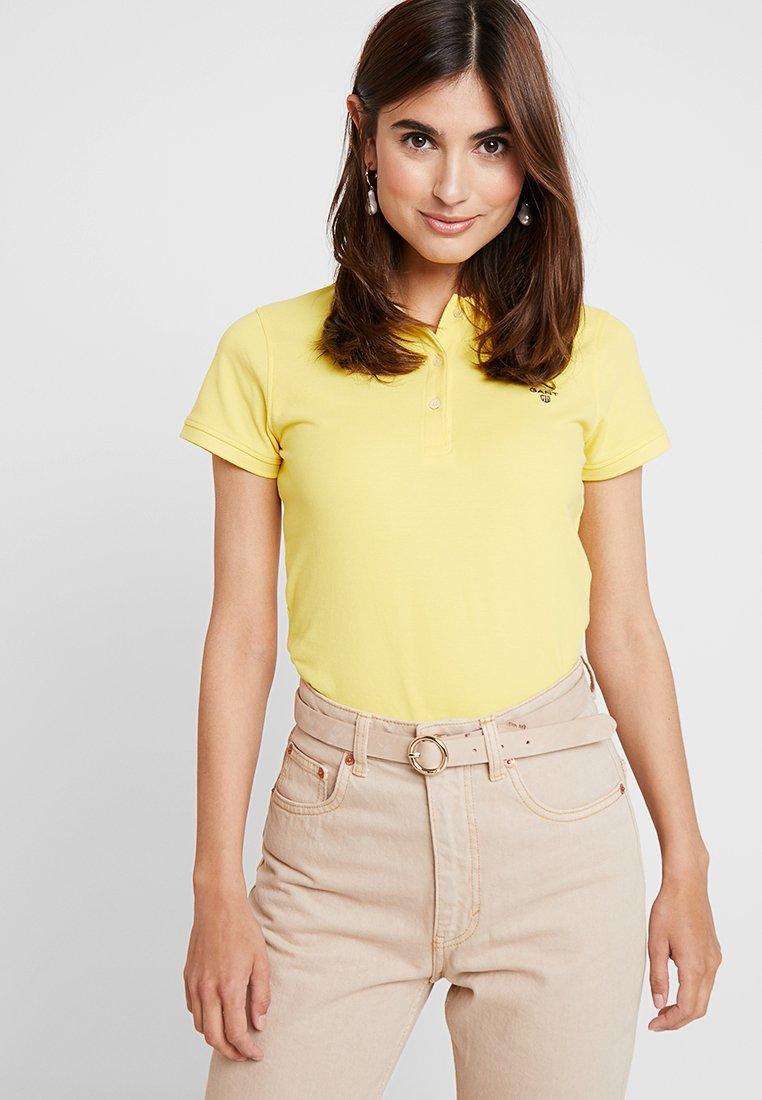 GANT - T-shirt con stampa - lemon zest