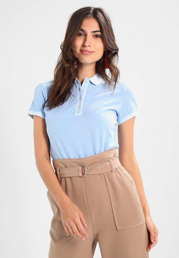 GANT - SUNBLEACHED - Poloshirt - capri blue