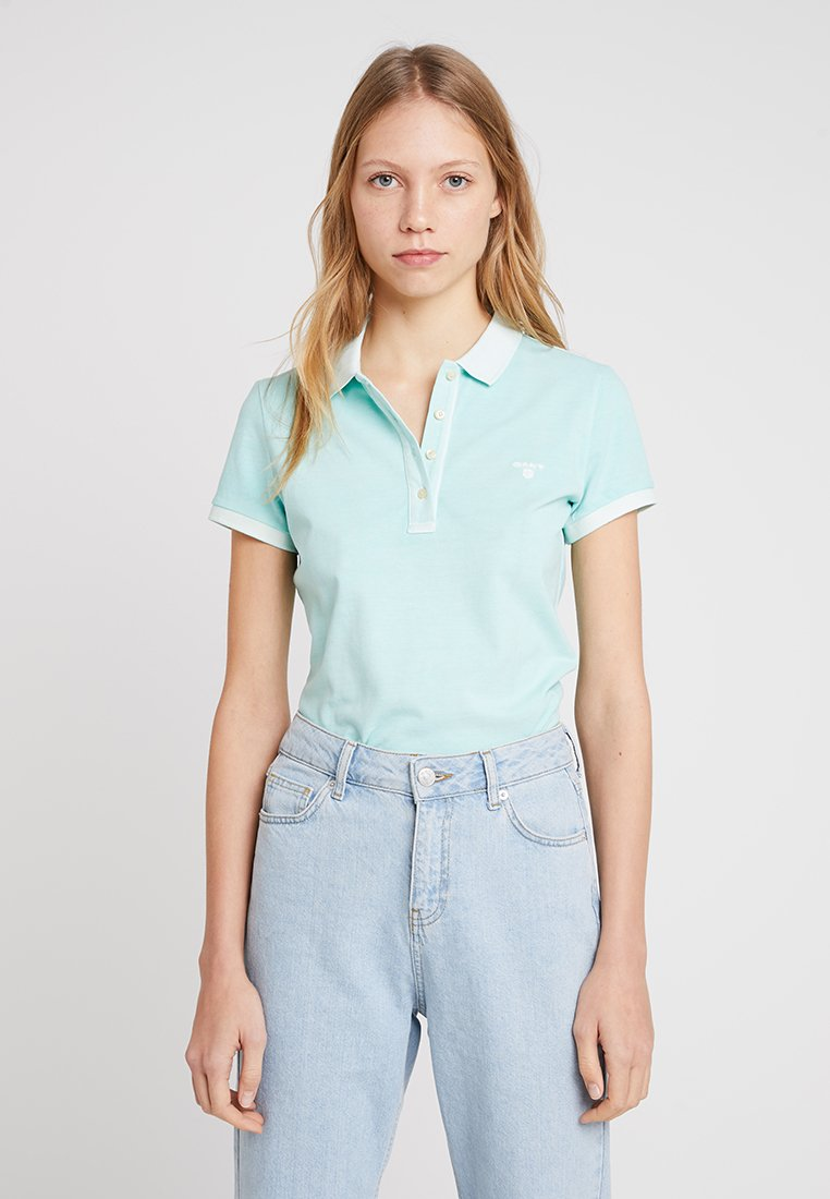 GANT - SUNBLEACHED - Poloshirt - bay green