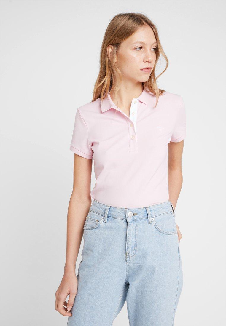 GANT - CONTRAST COLLAR - Polo shirt - california pink