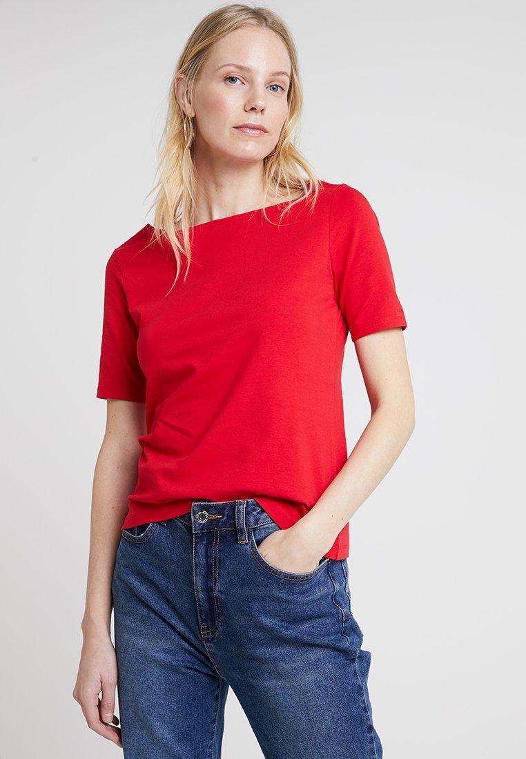 GANT - BOATNECK - T-Shirt basic - red