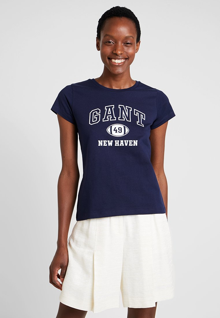 GANT - T-shirts print - evening blue