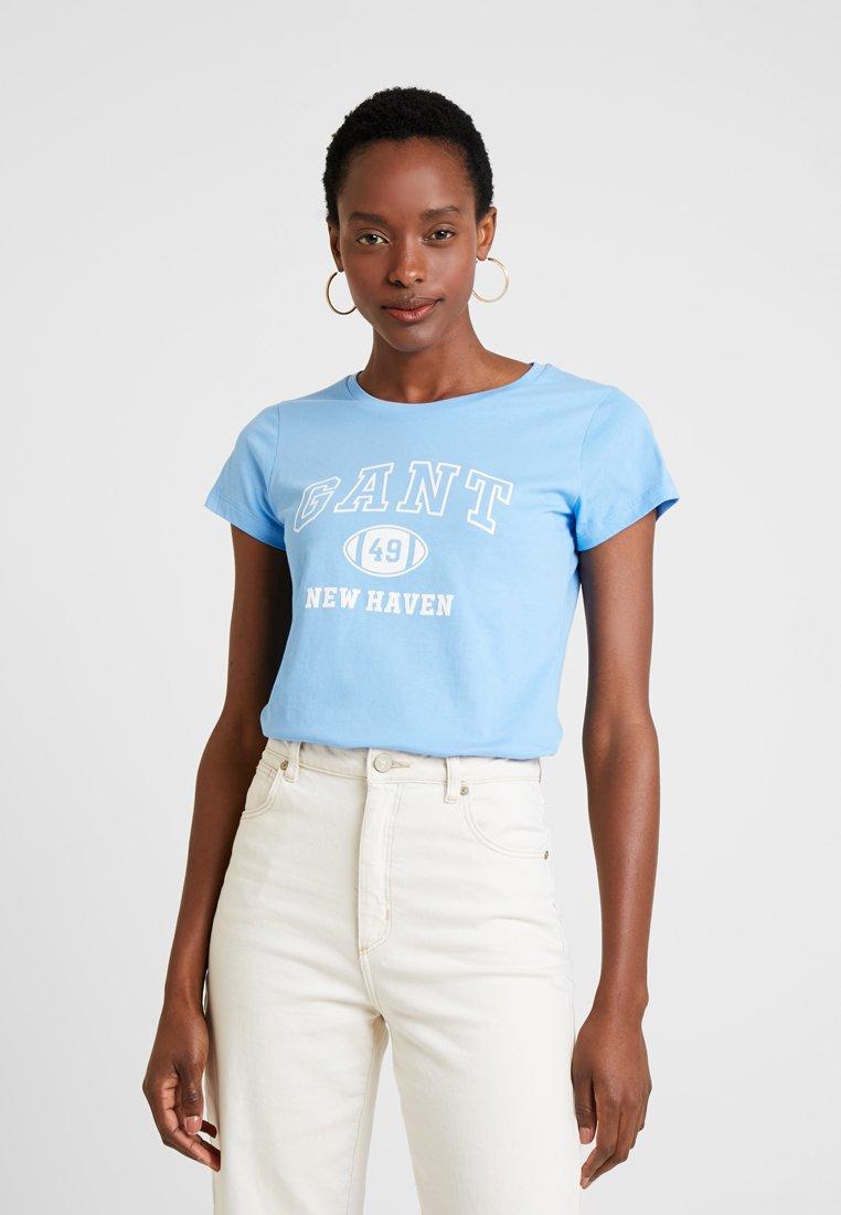 GANT - Print T-shirt - toy blue