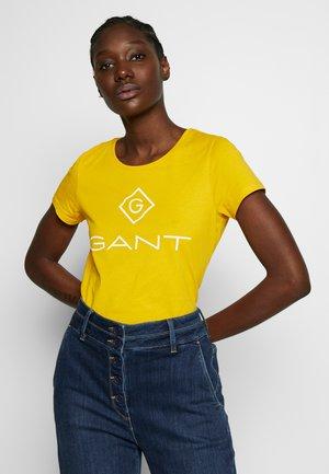 LOCK UP - Print T-shirt - warm sun