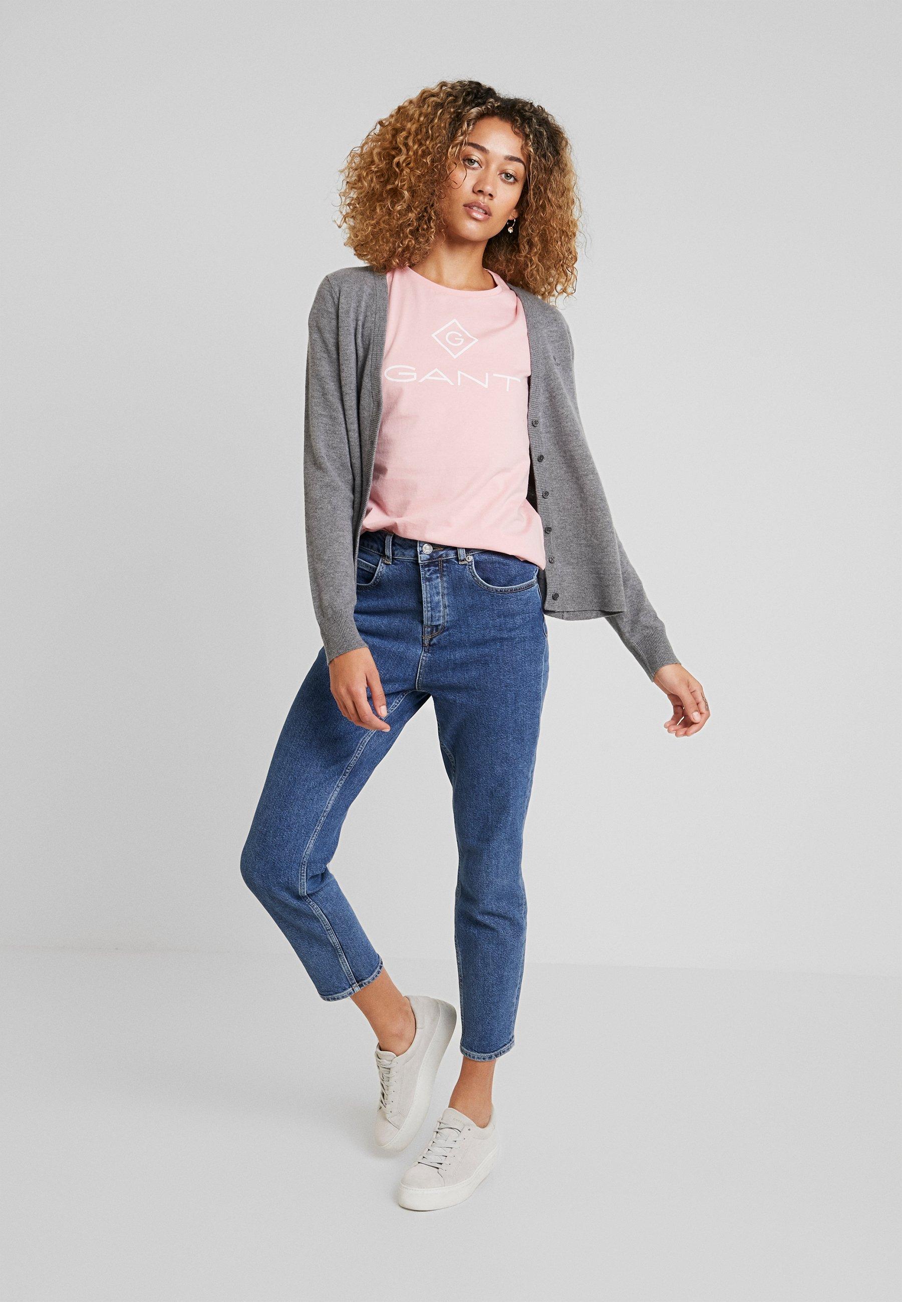 GANT LOCK UP - T-shirt con stampa - summer rose