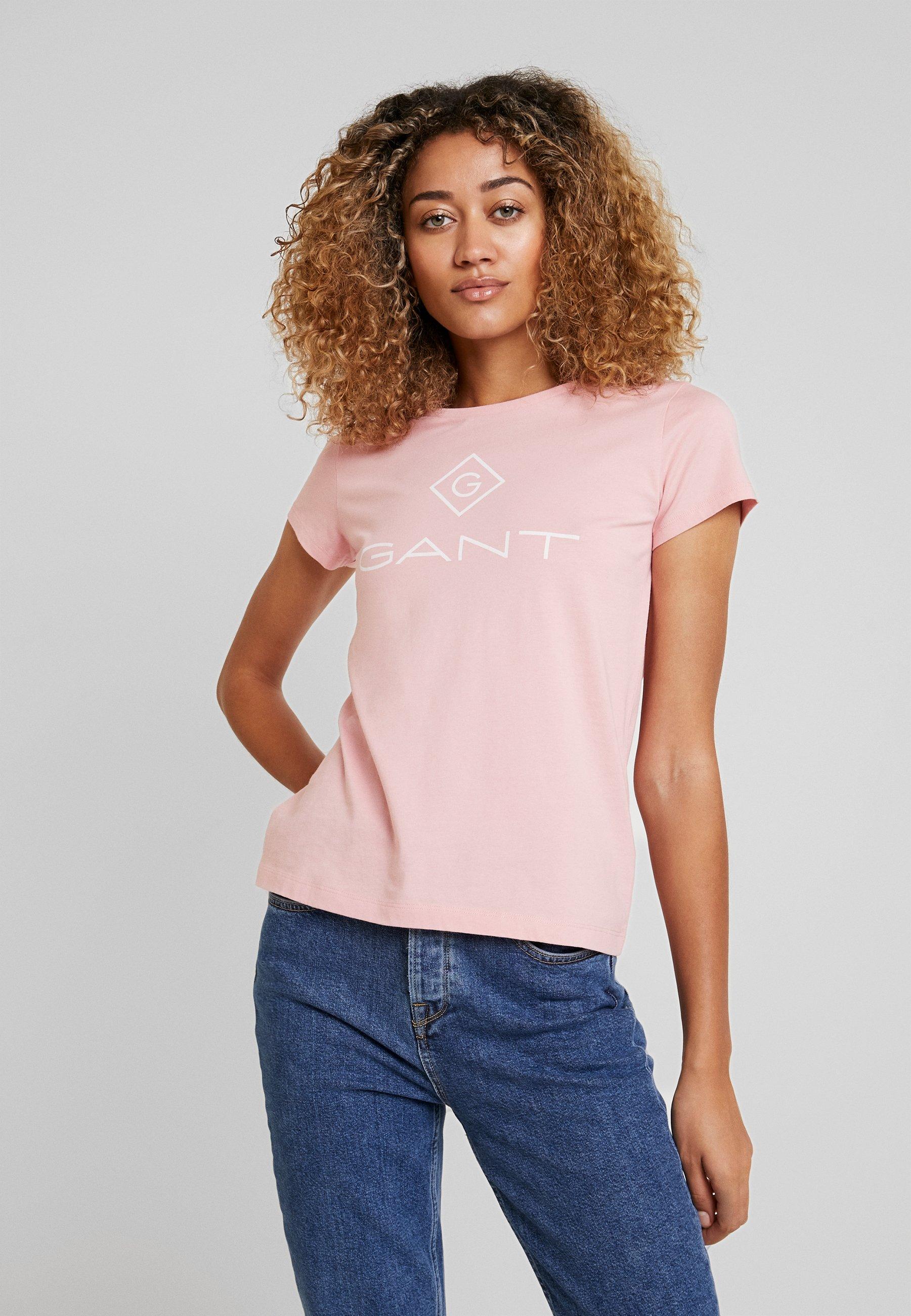 Stampa T shirt Rose Gant Summer Con c5jARq34L