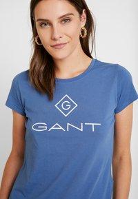 GANT - LOCK UP - Camiseta estampada - salty sea - 4