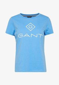 GANT - LOCK UP - T-shirt imprimé - pacific blue - 3