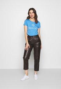 GANT - LOCK UP - T-shirt imprimé - pacific blue - 1