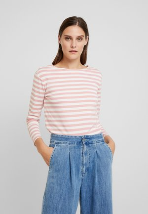 STRIPED - T-shirt à manches longues - summer rose