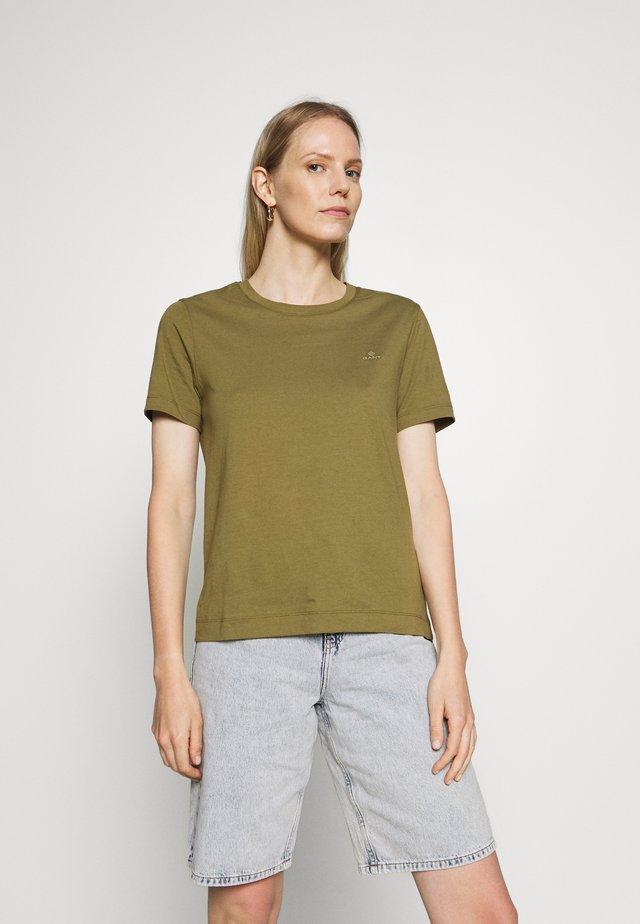 THE ORIGINAL  - Basic T-shirt - olive green