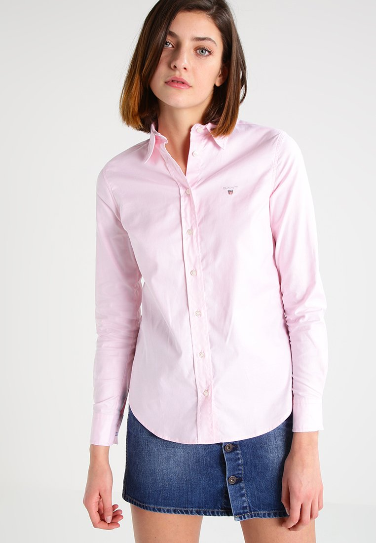 GANT - Button-down blouse - light pink