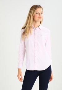 GANT - OXFORD BANKER - Button-down blouse - light pink - 0