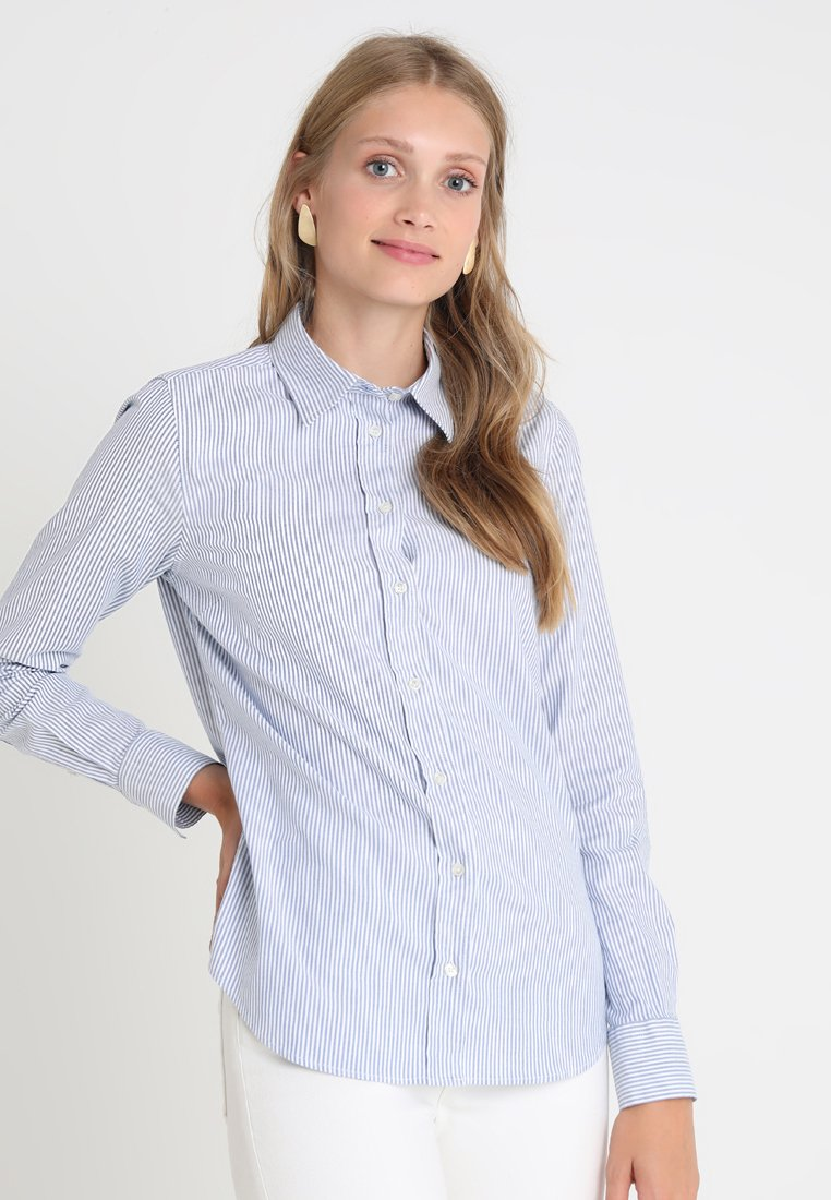 GANT - OXFORD BANKER - Button-down blouse - nautical blue