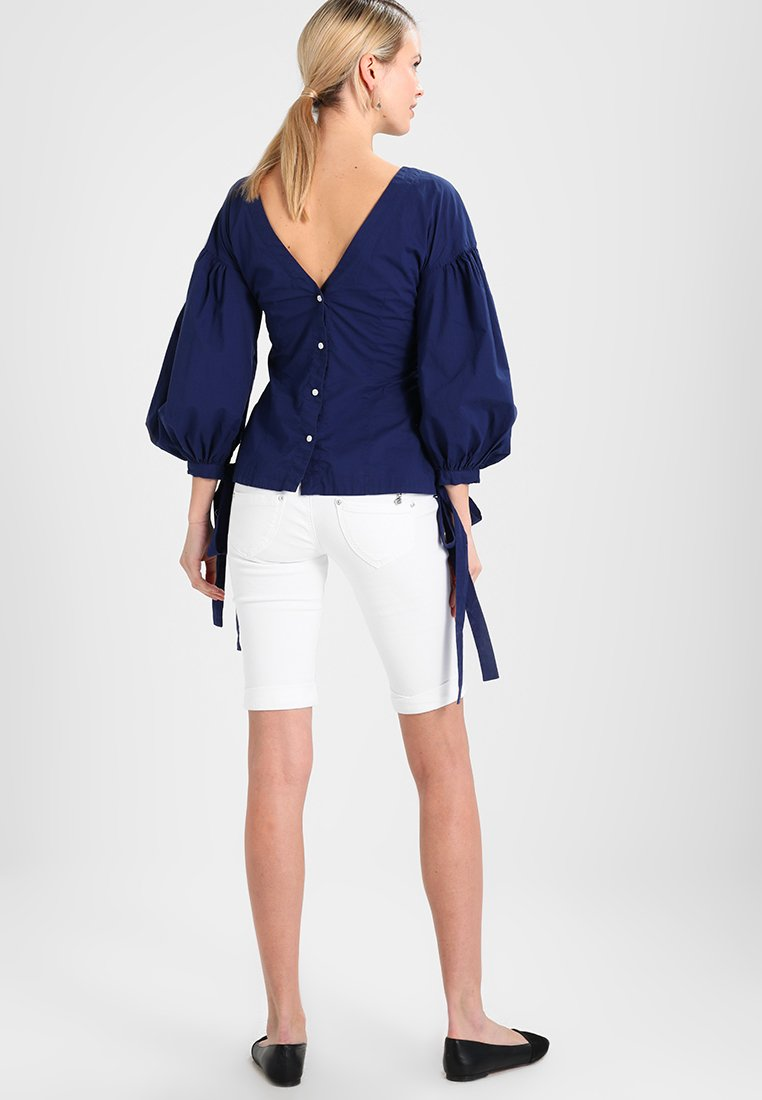 GANT - THE PUFFER - Bluse - persian blue
