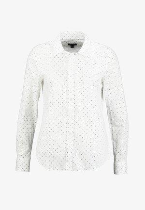 PRINTED DOT - Skjortebluser - white