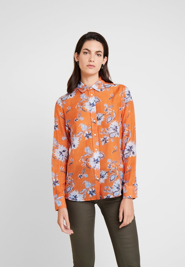 PAISLEY - Button-down blouse - amberglow