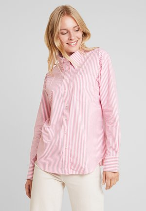 STRIPED BUSINESS - Button-down blouse - rapture rose