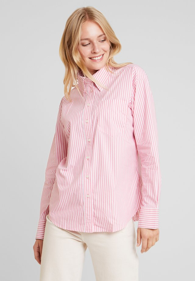 STRIPED BUSINESS - Camisa - rapture rose