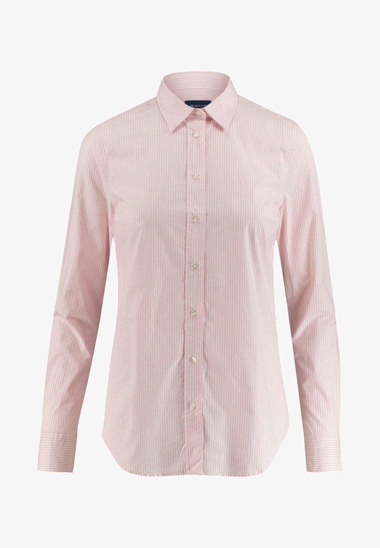 GANT - SLIM FIT - Button-down blouse - pink