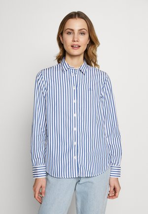 THE BROADCLOTH STRIPED - Button-down blouse - bright cobalt