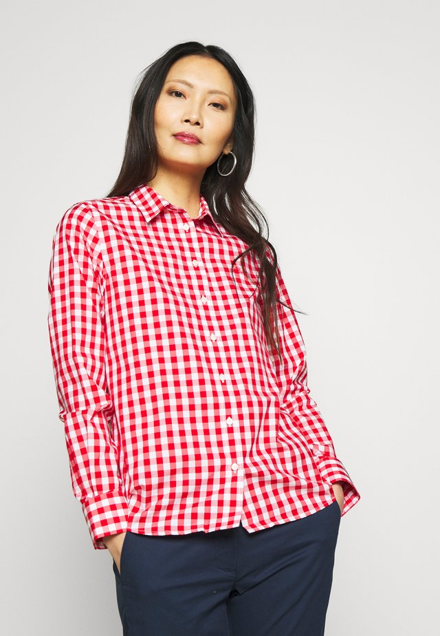 THE BROADCLOTH - Button-down blouse - bright red