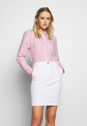 CHAMBRAY - Button-down blouse - rapture rose