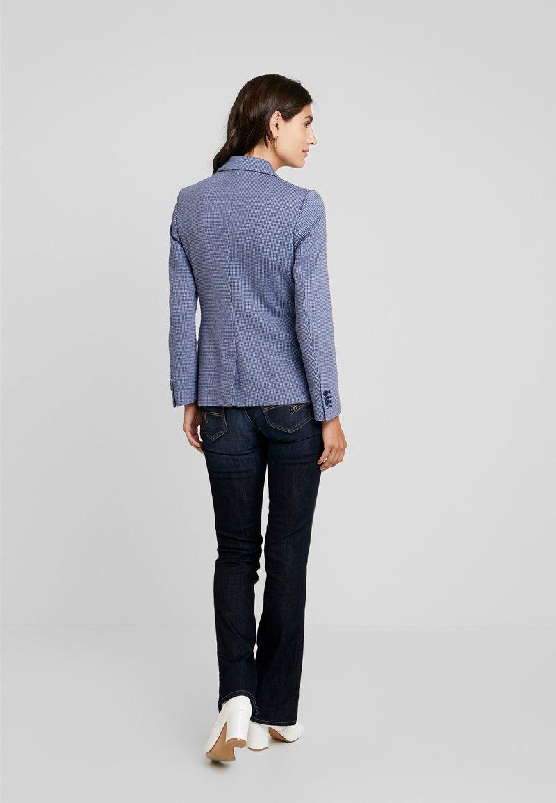 GANT - DOGTOOTH SLIM - Blazer - persian blue