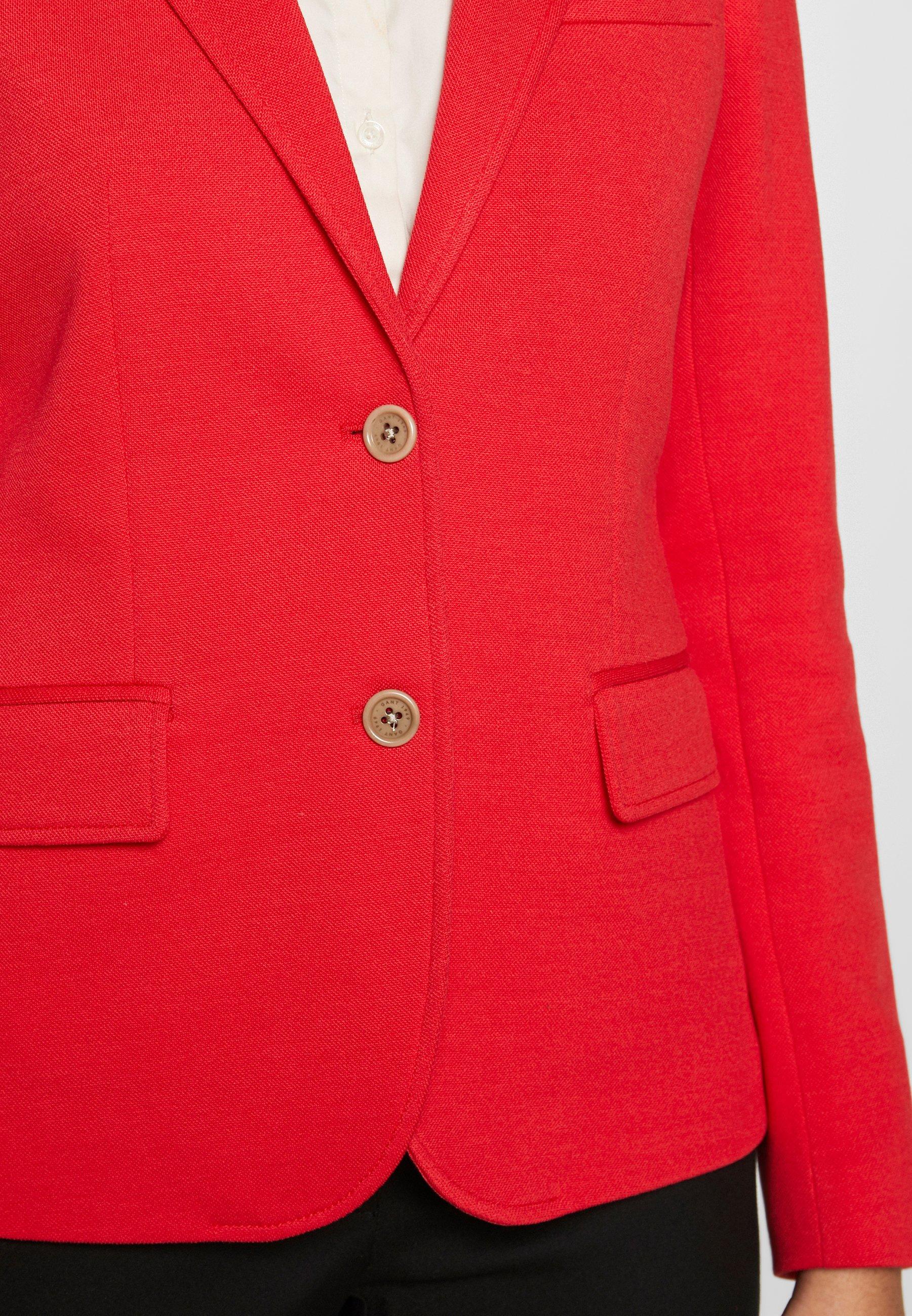 GANT SLIM - Blazer - bright red