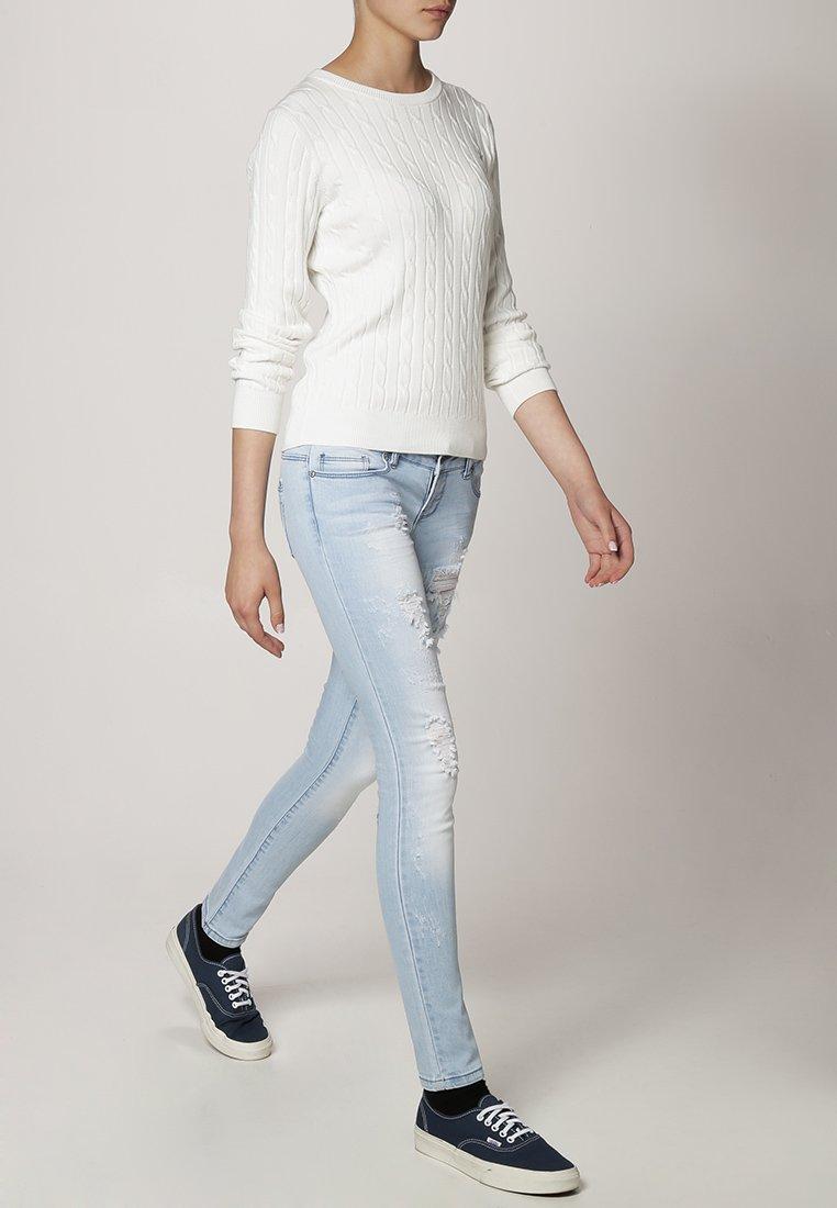 GANT - CABLE CREW - Jersey de punto - off white