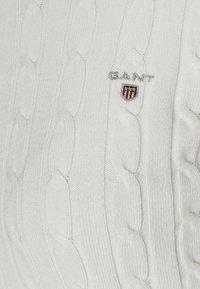 GANT - CABLE CREW - Jersey de punto - off white - 4