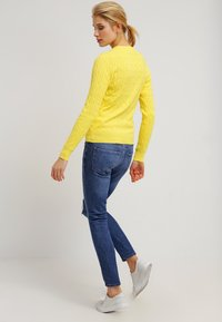 GANT - CABLE CREW - Pullover - clear yellow - 2