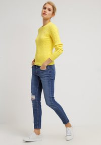 GANT - CABLE CREW - Pullover - clear yellow - 1