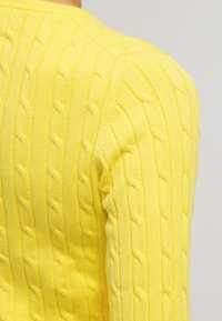 GANT - CABLE CREW - Pullover - clear yellow - 5