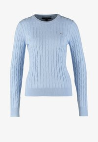 GANT - CABLE CREW - Sweter - hamptons blue - 6