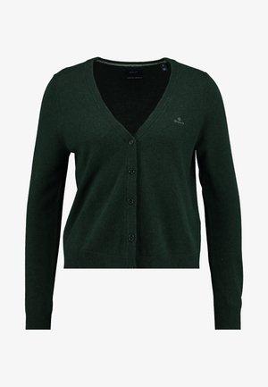SUPERFINE - Cardigan - tartan green