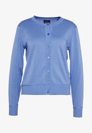 LIGHT CREW CARDIGAN - Vest - pacific blue